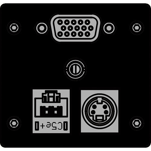 FSR IPS-AVC942T-BLK  IPS Audio/Video Insert (Black)