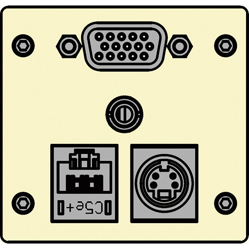 FSR IPS-AVC942T-IVO  IPS Audio/Video Insert (Ivory)