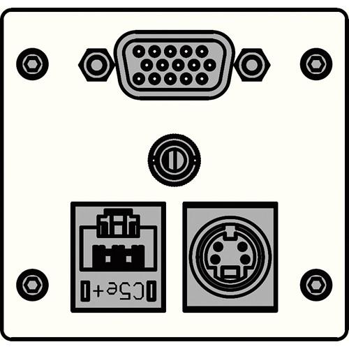 FSR IPS-AVC942T-WHT  IPS Audio/Video Insert (White)