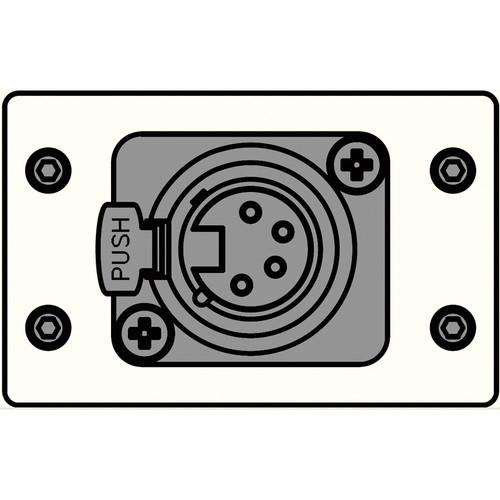 FSR IPS-C610D-WHT  IPS Control Insert (White)