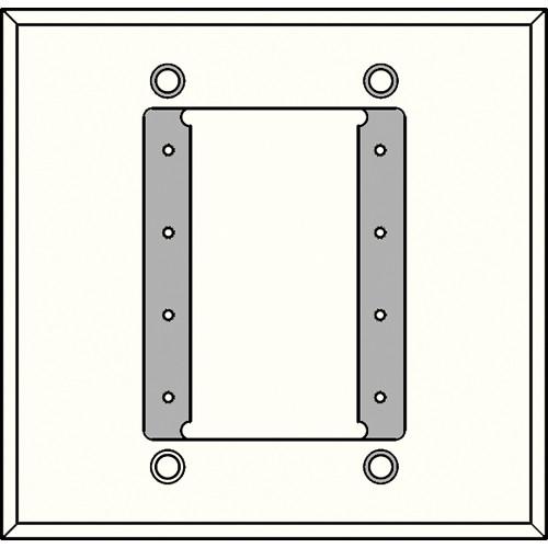 FSR IPS-PWP1D-WHT 2 Gang Wall Plate (White)