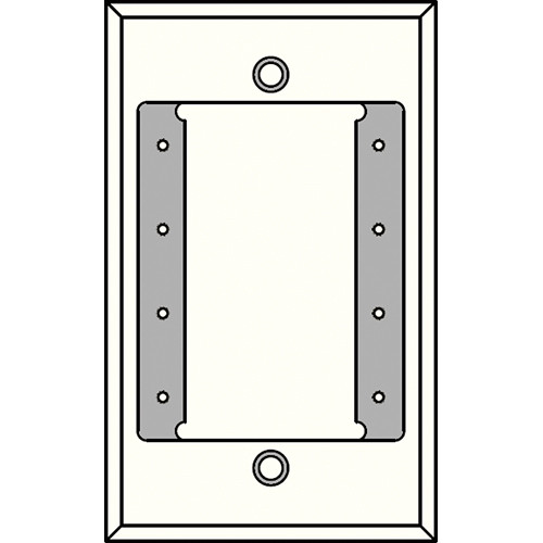 FSR IPS-PWP1S-WHT 1 Gang Wall Plate (White)
