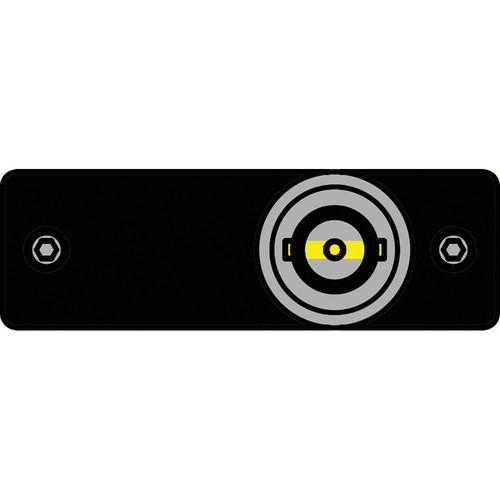 FSR IPS-V110S-BLK BNC to BNC Bulkhead Insert Plate (Black)
