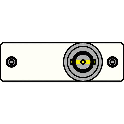 FSR IPS-V110S-WHT BNC to BNC Bulkhead Insert Plate (White)