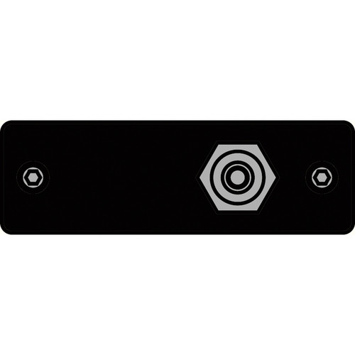 FSR IPS-V211S-BLK RCA (YEL) to RCA Bulkhead Insert Plate (Black)