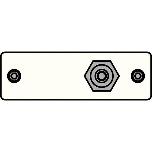 FSR IPS-V211S-WHT RCA (YEL) to RCA Bulkhead Insert Plate (White)
