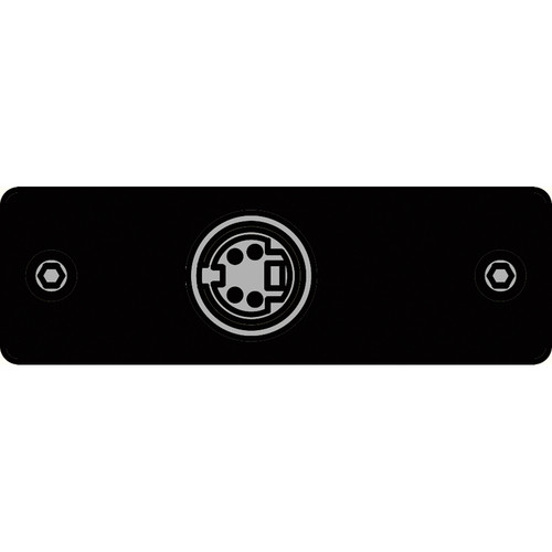 FSR IPS-V311S-BLK S-Video to S-Video Bulkhead Insert Plate (Black)