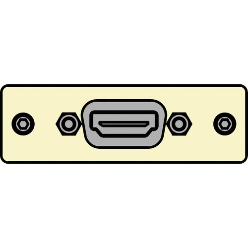 FSR IPS-V610S-IVO HDMI Female  to HDMI Female Insert Plate (Ivory)
