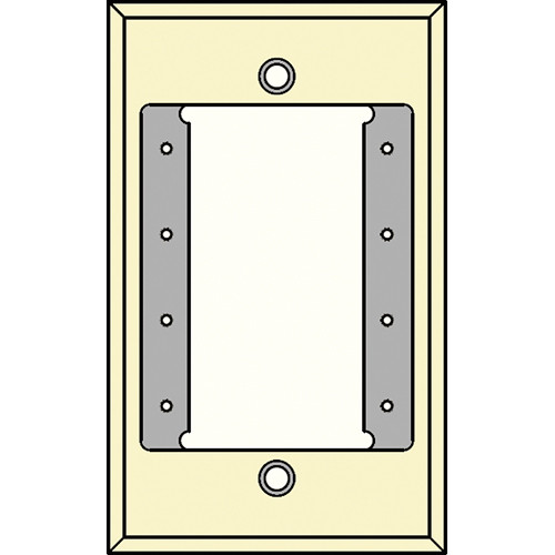 FSR IPS-WP1S-IVO 1 Gang Wall Plate (Ivory)