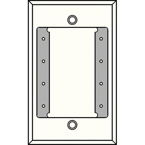 FSR IPS-WP1S-WHT 1 Gang Wall Plate (White)