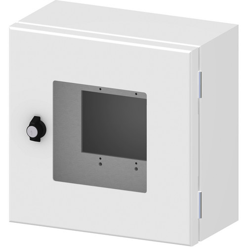 FSR Outdoor Wall Box with Window Cover (White)