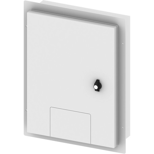 FSR Weather Box with Flush Mount Cover (White)