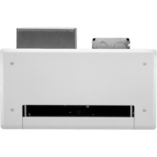 FSR PWB-100-WHT Flat Panel Display Wall Box (White)
