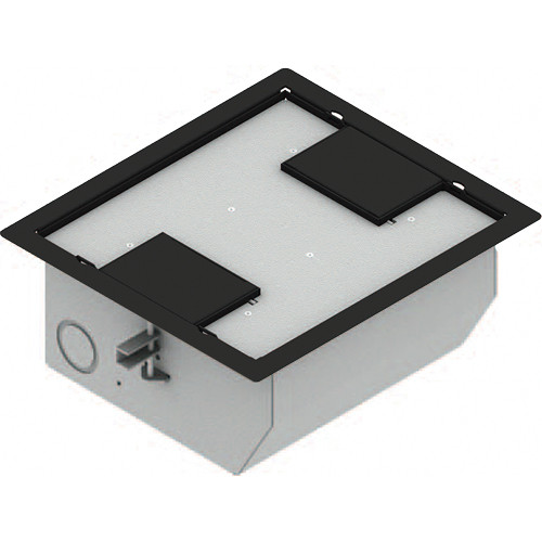 FSR RFL-QAV-DDBLK Raised Access Floor Box (Black)