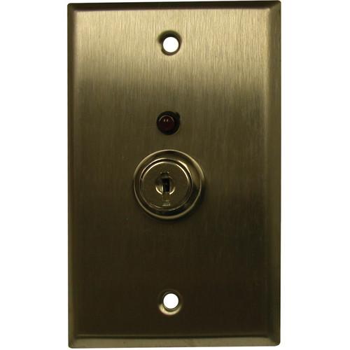 FSR RSP-1GK Single Gang, Key Switch Wall Plate
