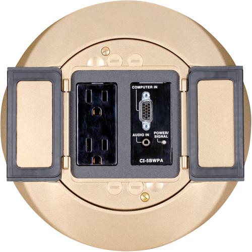 FSR SF-BT-CV SmartFit Cover for Tile Floors (Brass)