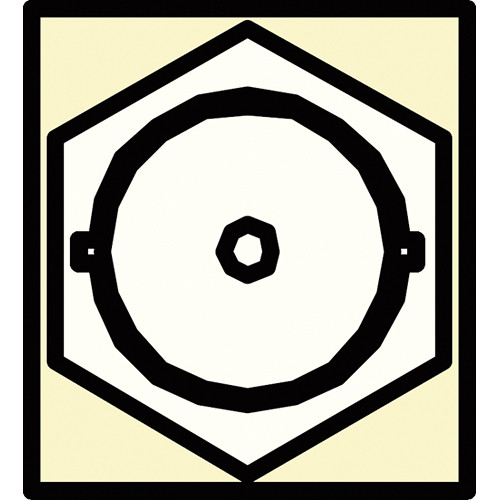 FSR SS-BNC-IVO BNC Pass-Thru Snap-In Connector (Ivory)