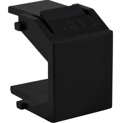 FSR SS-CBLNK-BLK Blank Snap-In Filler 10 Pack (Black)