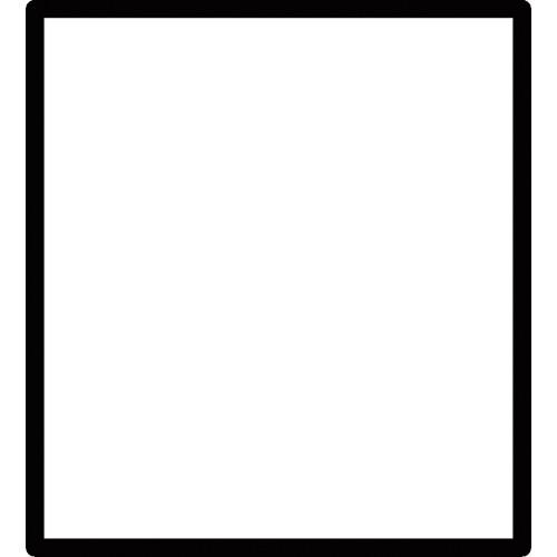 FSR SS-CBLNK-WHT Blank Snap-In Filler (White) (Package of 10)