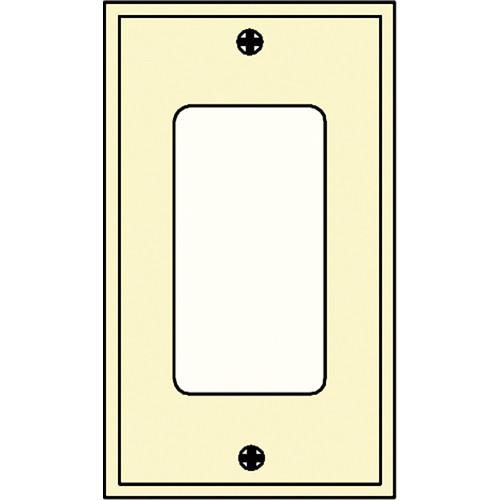 FSR SS-DPLT1-IVO Decora Wall Plate (1-Gang, Ivory)