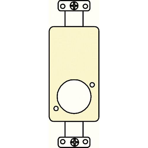 FSR SS-P1XLR-IVO Decora Insert with  Neutrik D-Hole (Ivory)