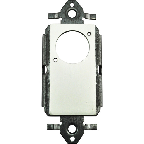 FSR SS-P1XLR-WHT Decora Insert with  Neutrik D-Hole (White)