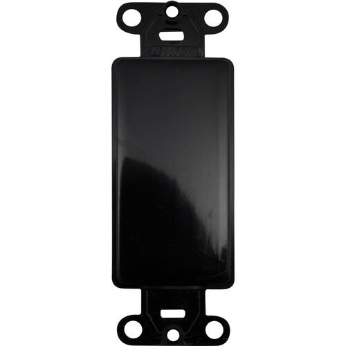 FSR SS-PBLNK-BLK Blank Plate (Black)