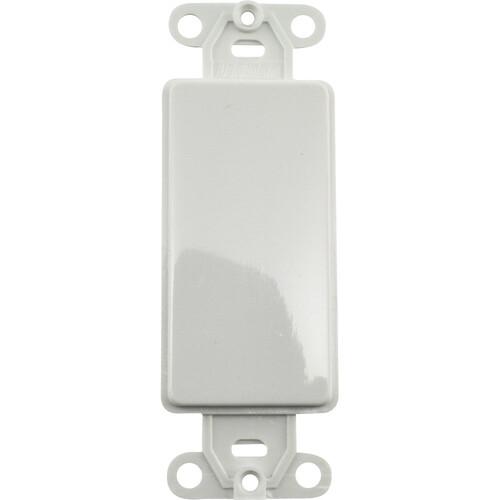 FSR SS-PBLNK-WHT Blank Plate (White)