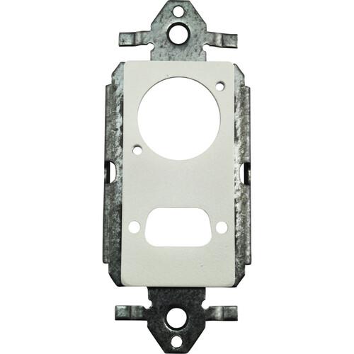 FSR SS-PDSXL-WHT Neutrik XLR & D-Sub Hole Plate (White)