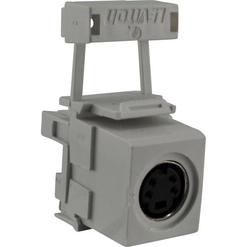 FSR SS-SCON-WHT S-Video Pass-Thru Snap-In Connector (White)