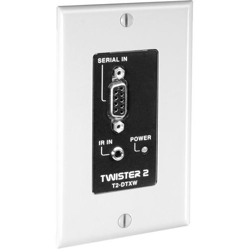 FSR T2-DTXW-WHT IR/Data Transmitter w/Wall Plate (White)