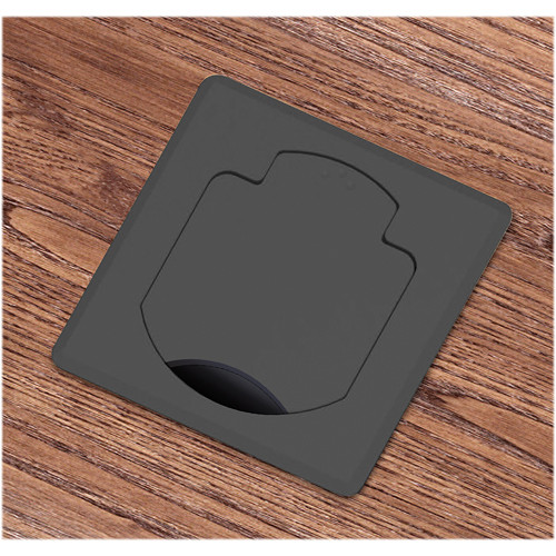 FSR T3-AC2HW-CP-SQBLK Table Box (Square Aluminum Cover)