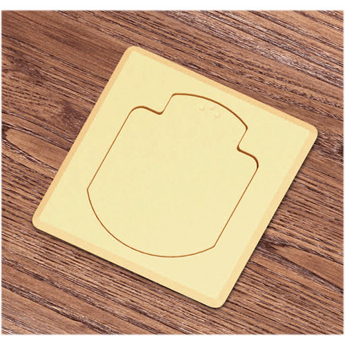 FSR T3-AC2-SQBRS Table Box (Square Brass Cover)