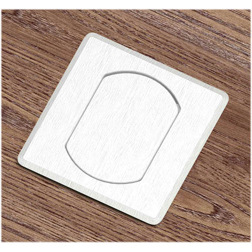FSR T3-MINISQ-1B-ALU Table Top Microphone Insert (Aluminum Square Cover) (1-Button/1-LED)
