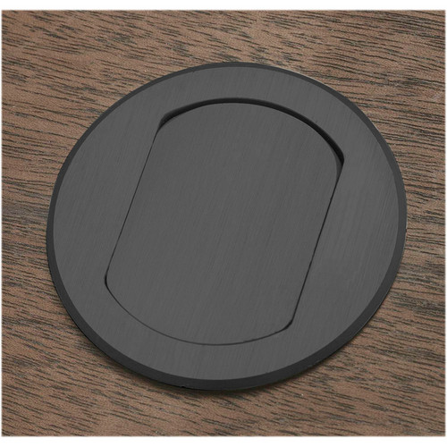 FSR T3-MINI-1B-BLK Table Top Microphone Insert (Black Round Cover) (1-Button/1-LED)