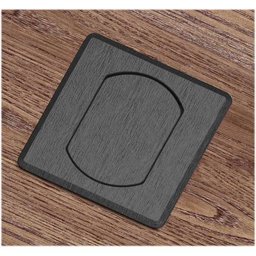 FSR T3-MJSQ-BLK Table Top Microphone Insert (Black Square Cover)