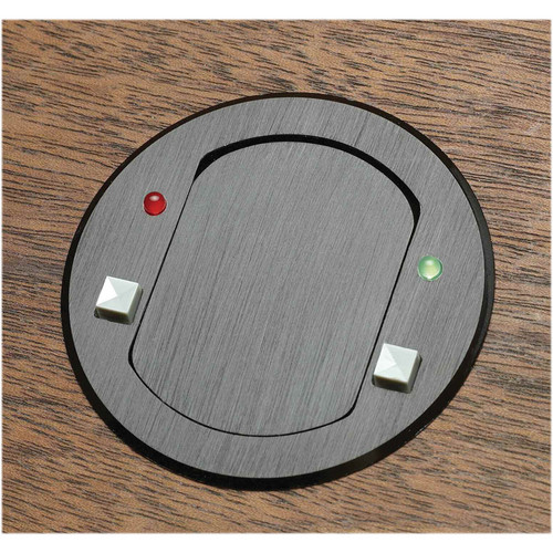 FSR T3-MJ-2B-BLK Table Top Microphone Insert (Round Black Cover)