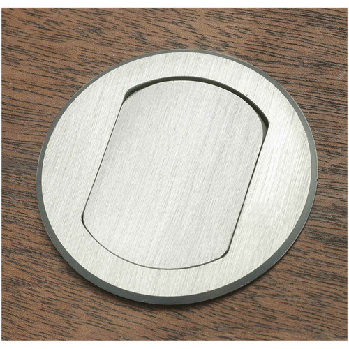 FSR T3-MJ-ALU Table Top Microphone Insert (Aluminum Round Cover)