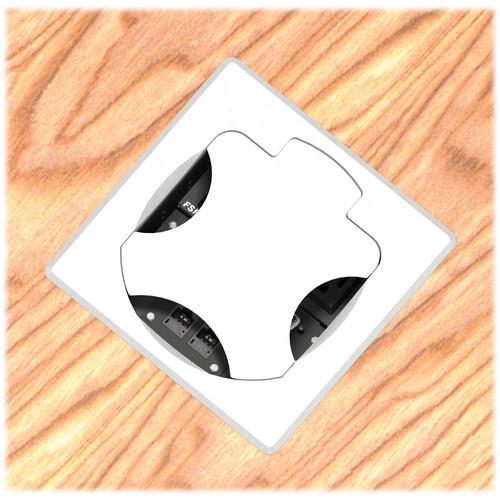 FSR T6-2LBAHW-SBS-SQALU Table Box (Square Aluminum Cover)