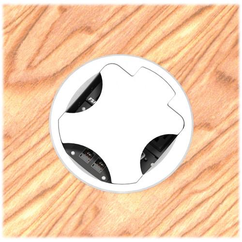 FSR T6-LBAHWS-SBI-ALU Table Box (Round Aluminum Cover)