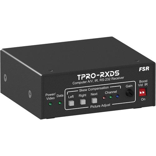 FSR TPRO-RXDS 1RU x 1/4 Wide Brick Receiver