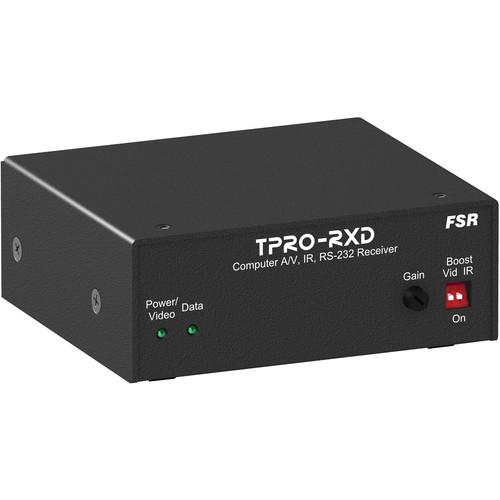 FSR TPRO-RXD 1RU x 1/4 Wide Brick Receiver