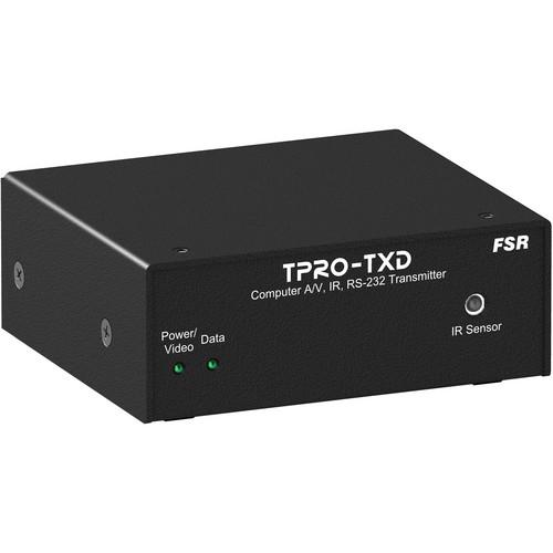 FSR TPRO-TXD 1RU x 1/4 Wide Brick Transmitter
