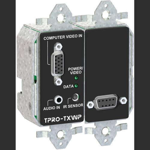 FSR TPRO-TXWPD-WHT 2-Gang Wall Plate Transmitter (White)
