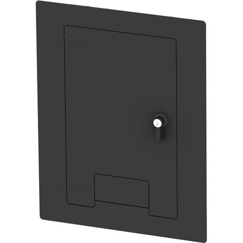 FSR WB-X1-CVR-BLK Flush-Mounted Locking Cover (Black)