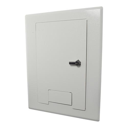 FSR WB-X1-CVR-WHT Flush-Mounted Locking Cover (White)