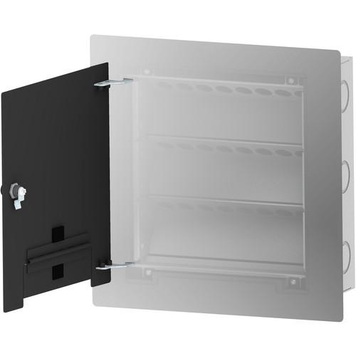 FSR WB-X2-CVR-BLK Flush-Mounted Locking Cover (Black)