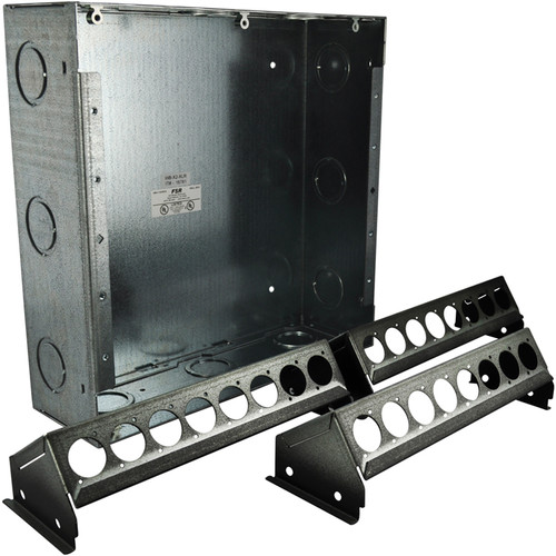 FSR WB-X2-XLR Wall Box (24 XLR Holes (3 x 8) with Knock-Outs)