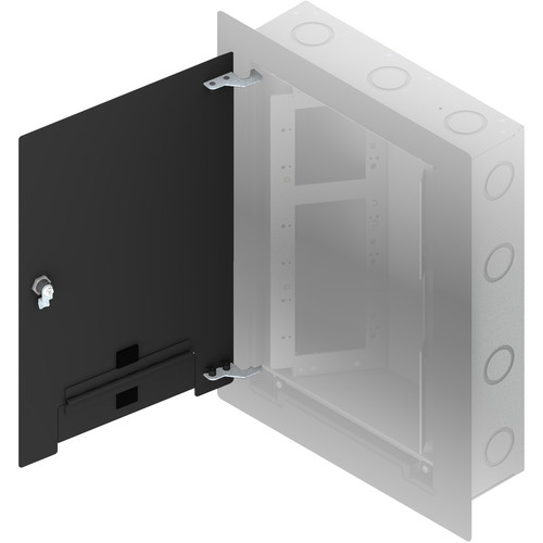 FSR WB-X3-CVR-BLK Flush-Mounted Locking Cover (Black)