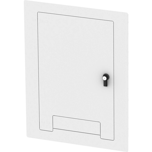 FSR WB-X3-CVR-WHT Flush-Mounted Locking Cover (White)